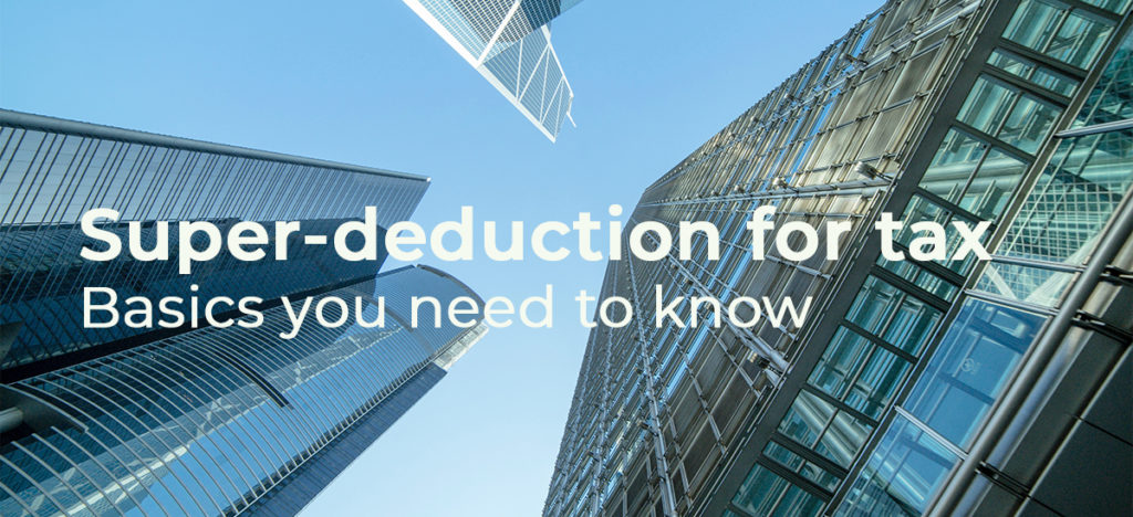Super-Deduction for tax, the basics | Palmers Business Support